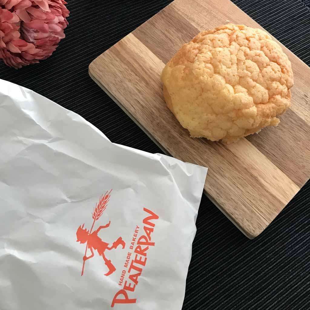 ピーターパンのメロンパン