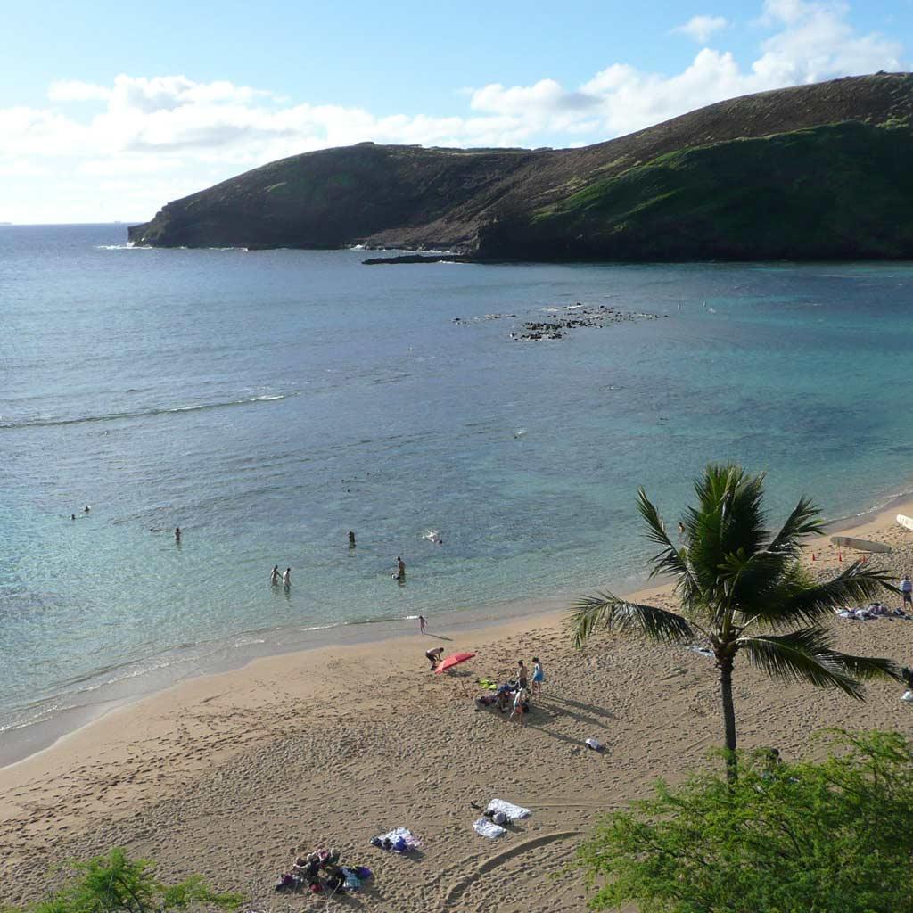ハワイ・ハナウマ湾