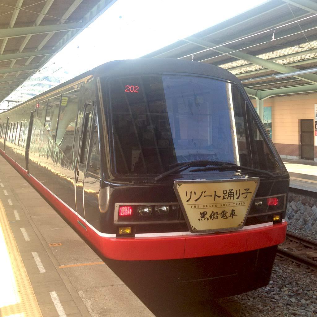リゾート踊り子号・黒船電車